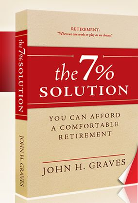 The 7% Solution: You CAN Afford a Comfortable Retirement Reviewed by:  Anne Holmes for the NABBW