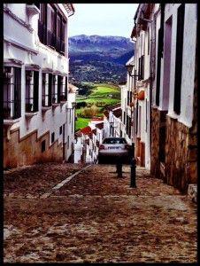 Teresa Spain narrow street