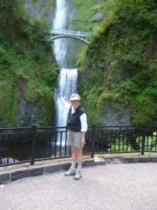 Ballou_Linda at Multnomah Falls