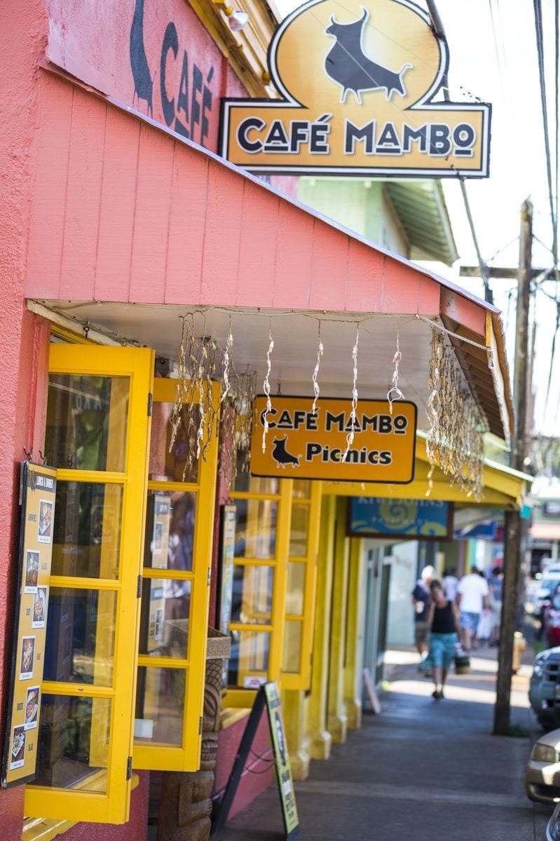 Small shops of Paia