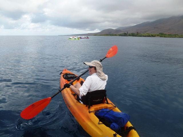 LInda In kayak Un-Cruise 2013 067
