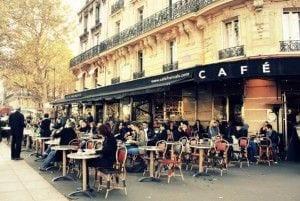 carolee france cafe pic