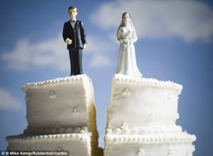 marriage over