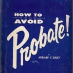 Dacey probate book