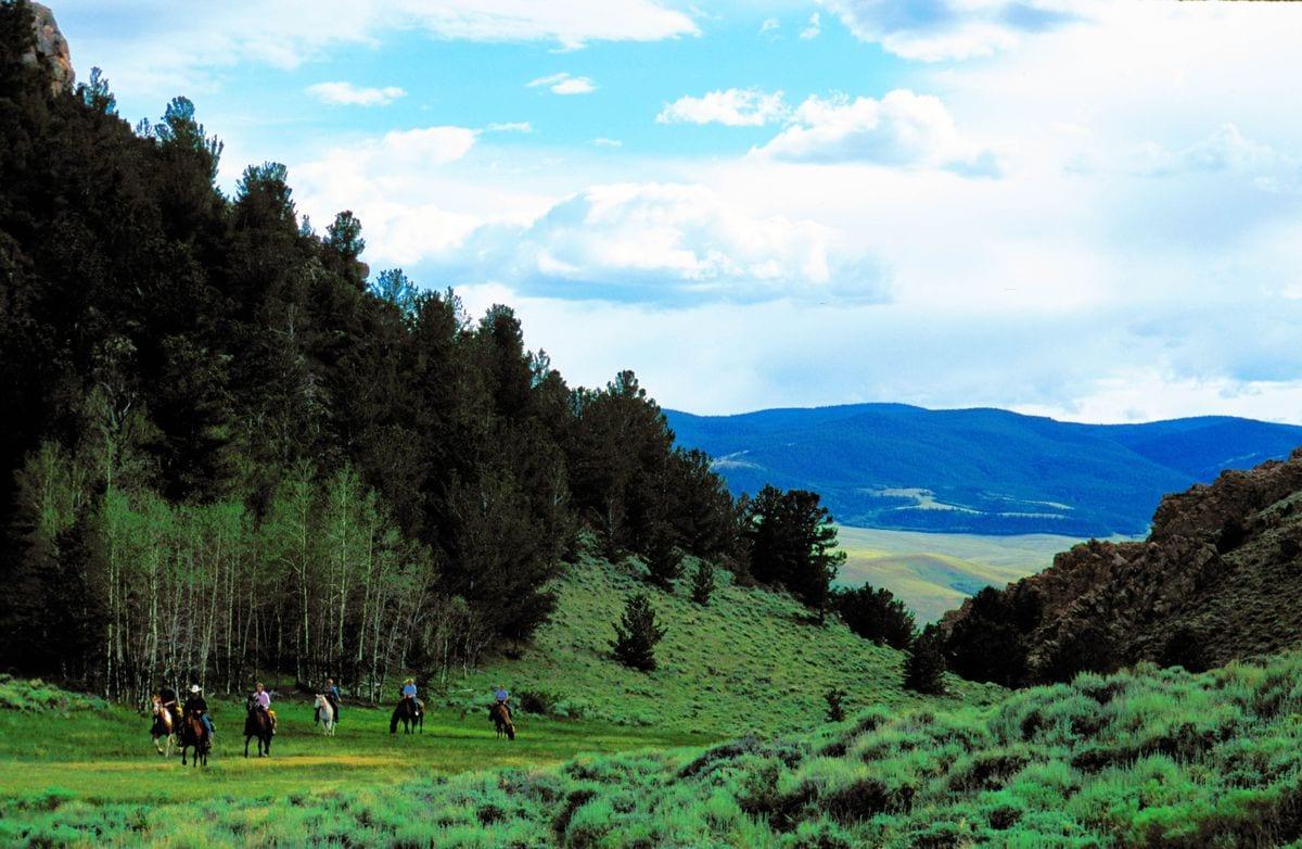 Riders at Laramie River Ranch #1_1