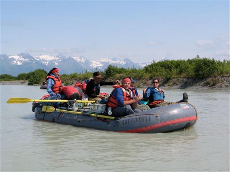 Rafting the Tatshenshini