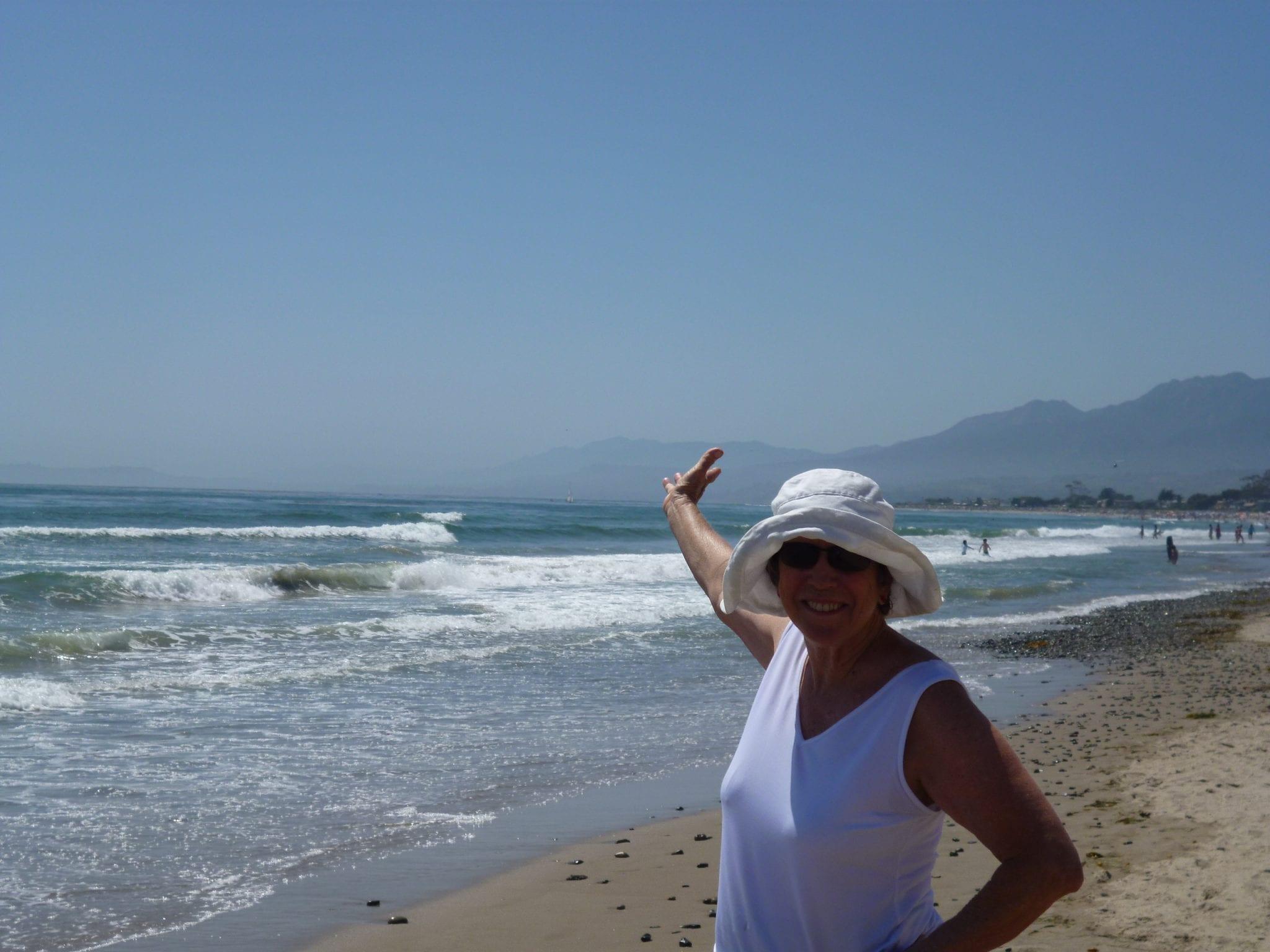 # 1 Linda at the beach