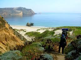 Hike on Santa Cruz Island