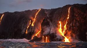 lava to the sea