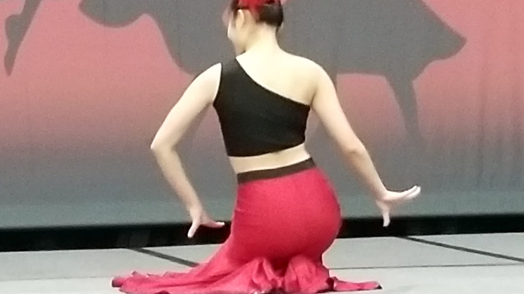 Japanese dancer at Travel Show