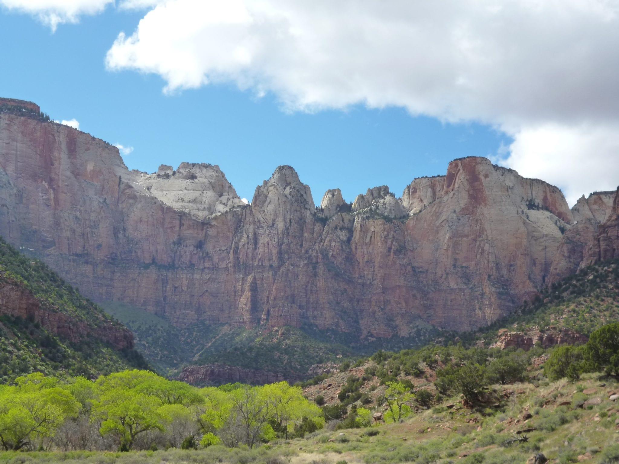 Tallest Peaks in Zion NP