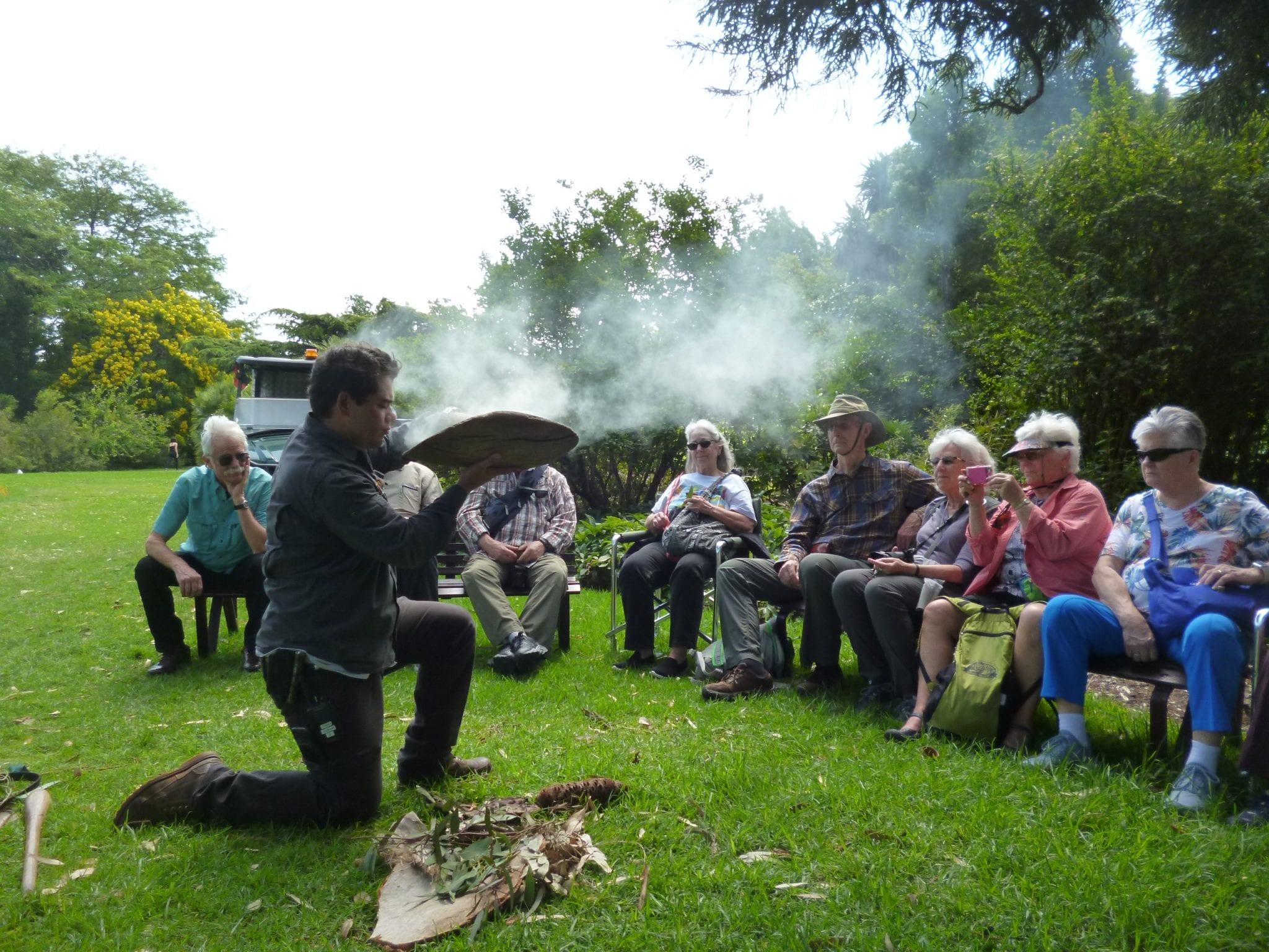Melbourne Smoke Ceremony