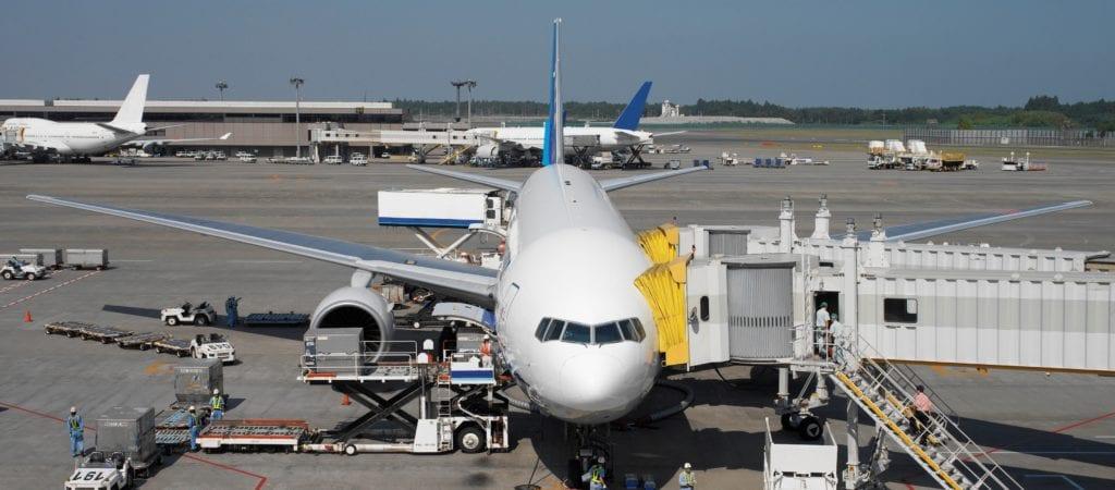Aircraft at Narita International Airport - Tokyo - Japan
