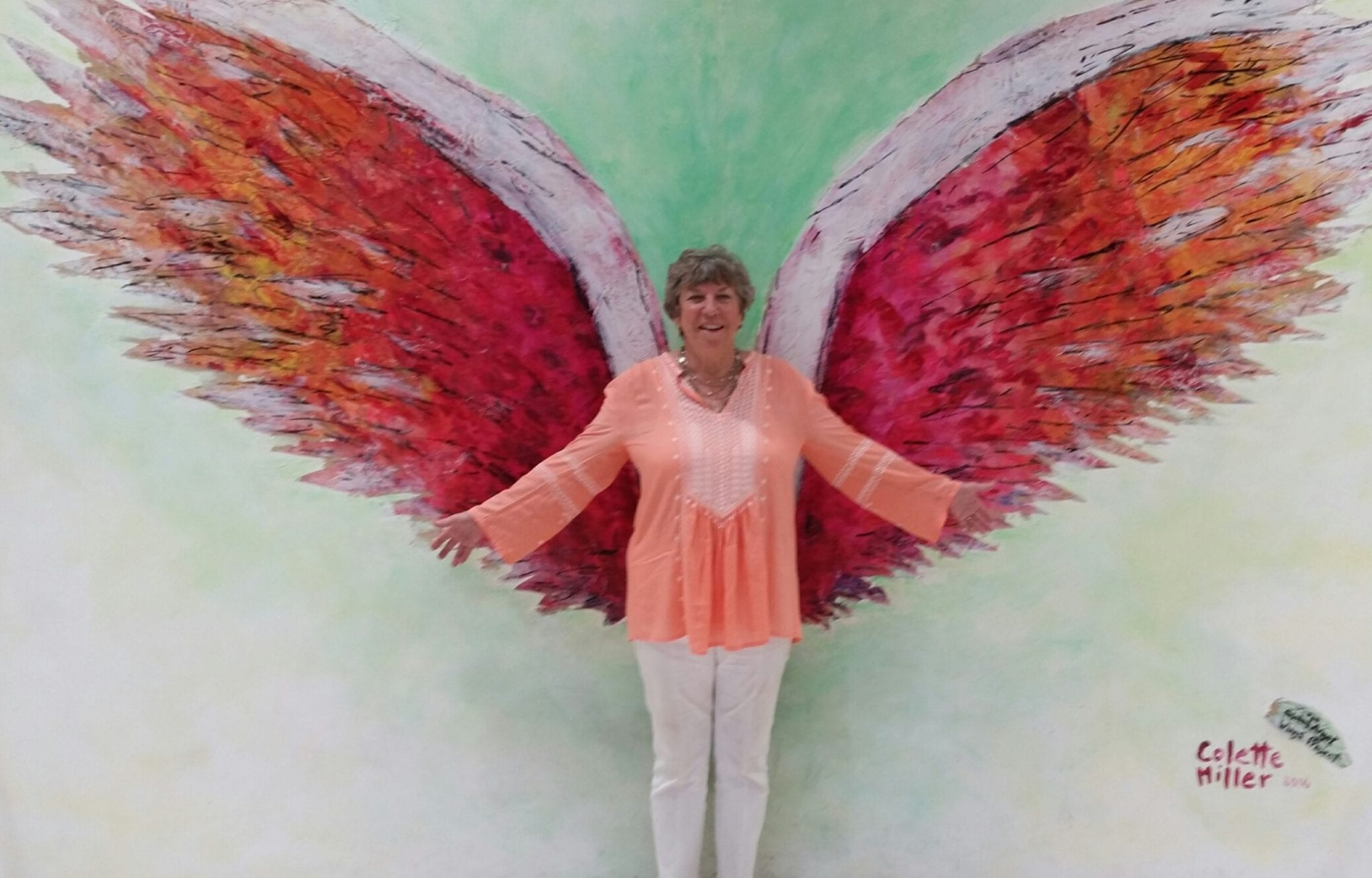 Linda in Wings