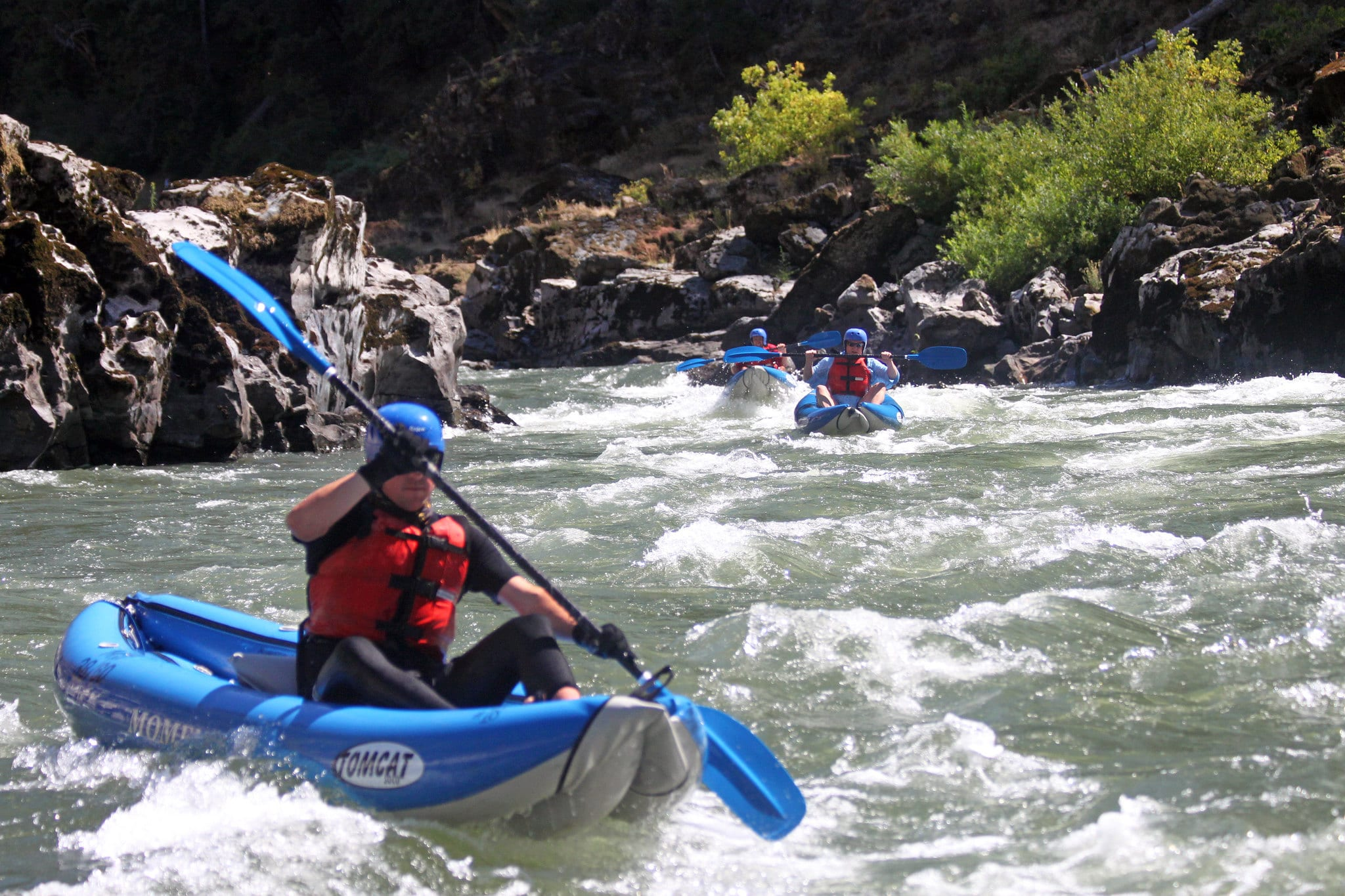 Heading for the Rogue River